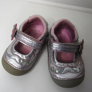 Stride Rite Soft Motion Mary Jane Baby Shoes